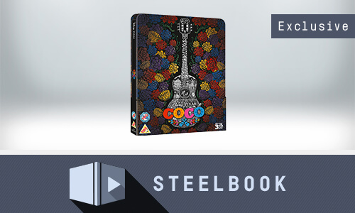 COCO 3D - ZAVVI EXCLUSIVE LIMITED EDITION STEELBOOK