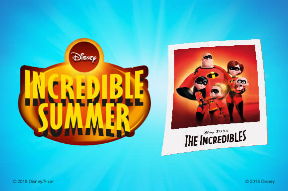 DISNEY INCREDIBLE SUMMER