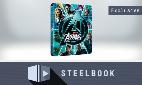 AVENGERS ASSEMBLE - 4K UHD LIMITED EDITION STEELBOOK (INCLUDES 2D VERSION)