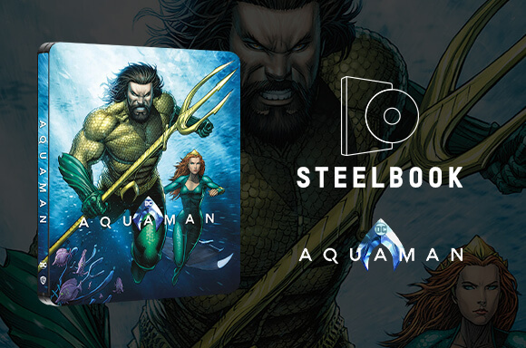 Aquaman - Zavvi Exclusive 4K Ultra HD Steelbook