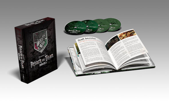 ATTACK ON TITAN - SEASON 02 ZAVVI EXCLUSIVE BOX SET