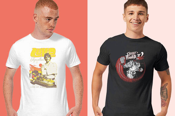 T-SHIRTS ONLY £8.99!