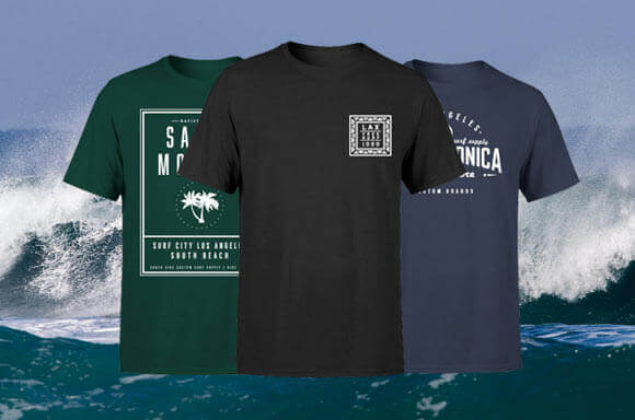 3 FOR £20 NATIVE SHORE T-SHIRTS