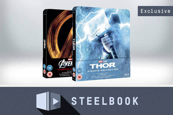 THOR & AVENGERS<br />LIMITED EDITION TRILOGY STEELBOOKS