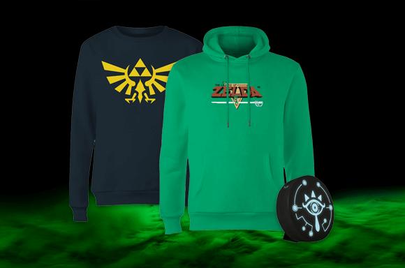 Sudadera Zelda + Lámpara