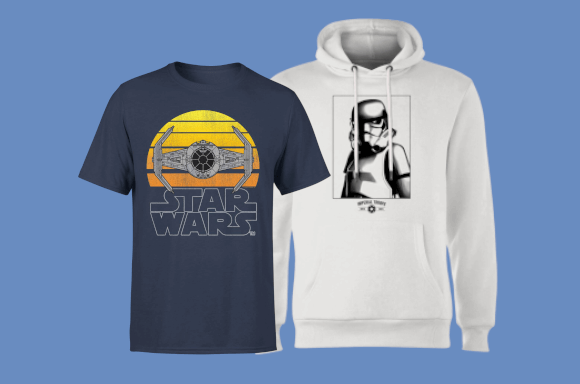 Free Star Wars T-shirt when you buy a Hoodie