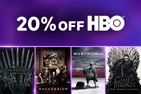 EXTRA 15% OFF <br>HBO DVD & BLU-RAY