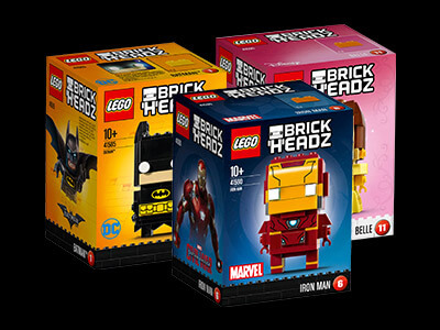 2 FOR £18 BRICKHEADS