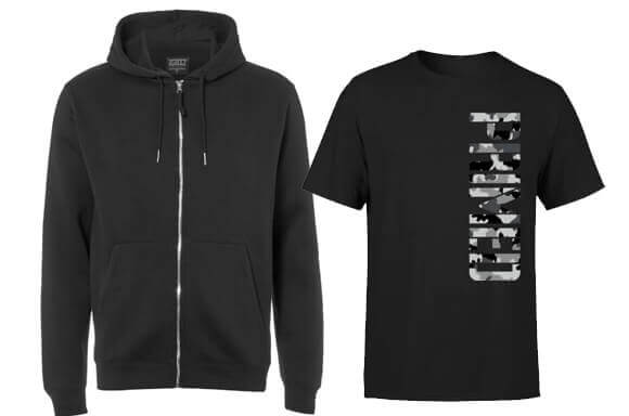 HOODY & T-SHIRT ONLY £19.99