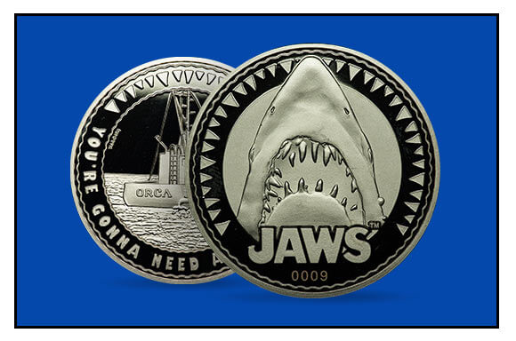 JAWS COLLECTOR'S COIN