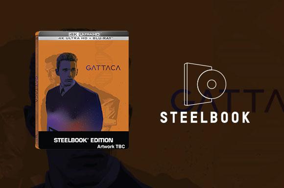 Zavvi Exclusive Gattaca Steelbook