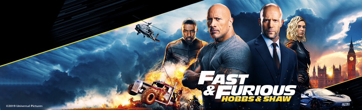 Fast and Furious Hobbs & Shaw