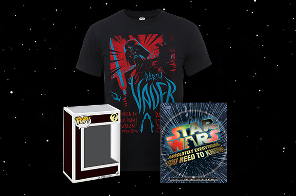 T-SHIRT, BOOK & POP! VINYL