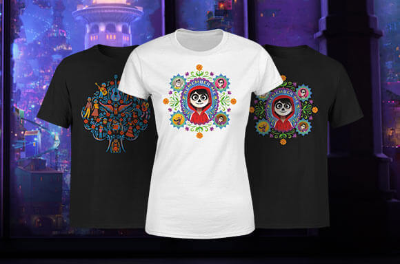 DISNEY'S COCO LICENSED CLOTHING
