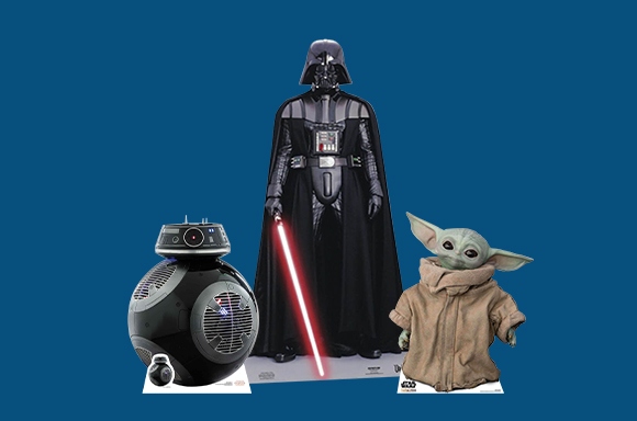 10% off  SW Cardboard Cut Outs