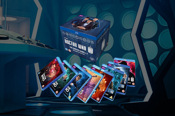 Doctor Who Series 1-7 Blu-Ray Price Drop