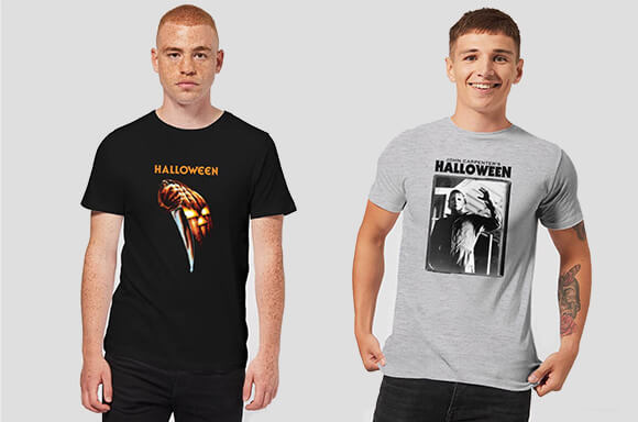 30% OFF OFFICIAL HALLOWEEN T-SHIRTS