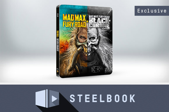 MAD MAX FURY ROAD STEELBOOK