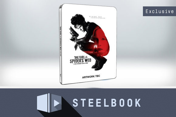The Girl In The Spider's Web – 4K Ultra HD Steelbook