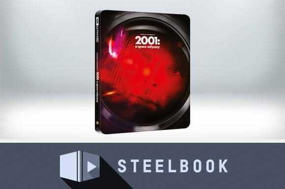 2001: A SPACE ODYSSEY 4K ULTRA HD STEELBOOK