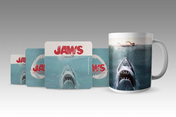 OFFICIALLY LICENSED MUG AND COASTERS