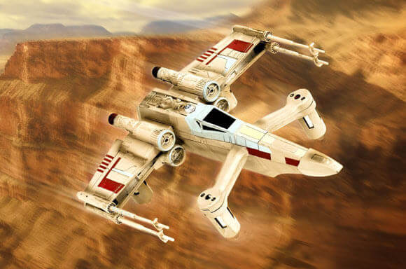 COLLECTOR'S EDITION STAR WARS DRONES