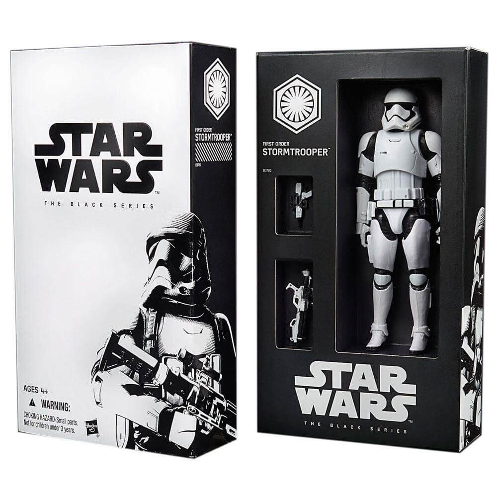 FIRST ORDER STORMTROOPER - STAR WARS BLACK SERIES 6