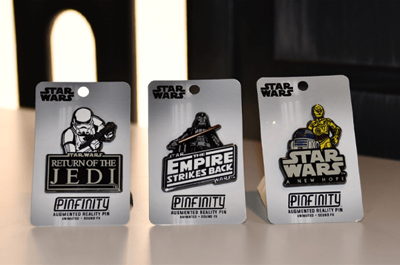 STAR WARS AR PIN BADGE COLLECTABLE