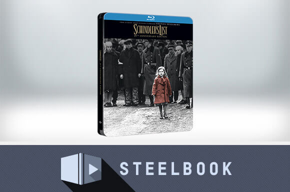 SCHINDLER'S LIST 4K ULTRA HD STEELBOOK