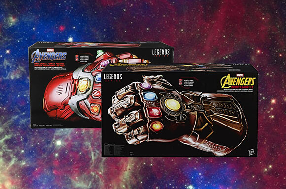 2 Avengers Gauntlets For £150