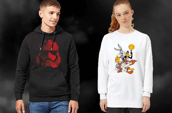 HOODIES & SWEATSHIRTS FROM £16.99