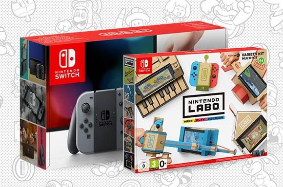 Nintendo Switch & Nintendo Labo Toy-Con 01: Variety Kit