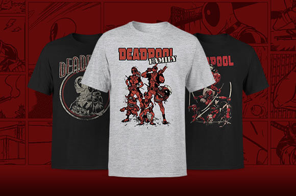 DEADPOOL LICENSED APPAREL
