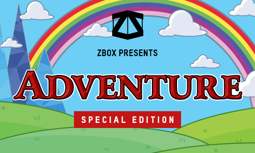 ADVENTURE SPECIAL EDITION MYSTERY ZBOX