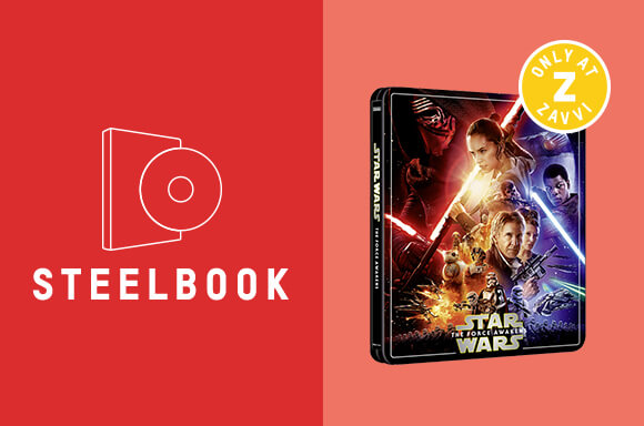 STAR WARS: EPISODE VII - THE FORCE AWAKENS <br>3 DISC 4K UHD STEELBOOK