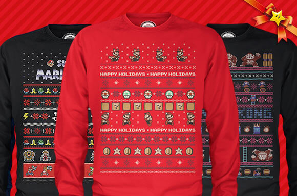 OFFICIAL NINTENDO CHRISTMAS JUMPERS