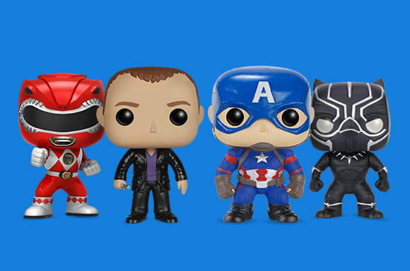 MYSTERY DAMAGED POP! x4 - ONLY £19.99