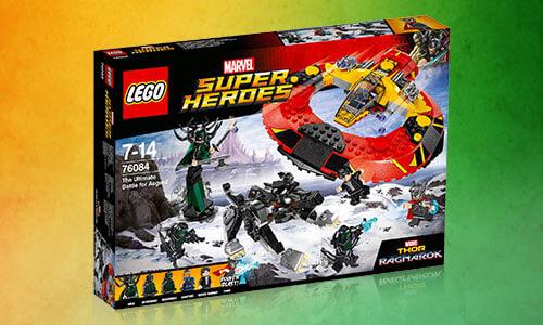 LEGO Marvel Superheroes: Thor The Ultimate Battle for Asgard