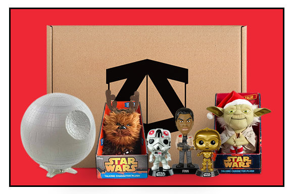 £10 OFF STAR WARS CRATES