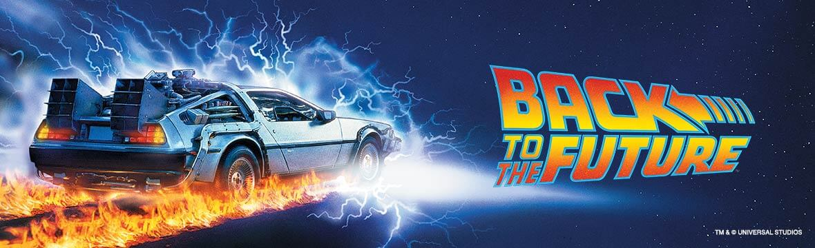 Back to the Future officially licensed clothing