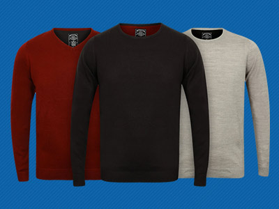 2 FOR £16 JUMPERS