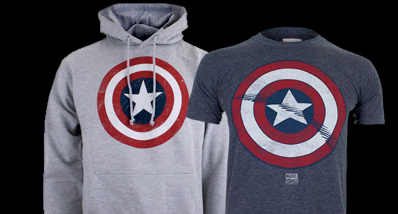 MARVEL HOODY & T-SHIRT ONLY £30