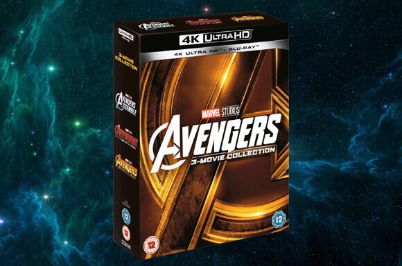 AVENGERS TRILOGY 4K ULTRA HD BOX SET