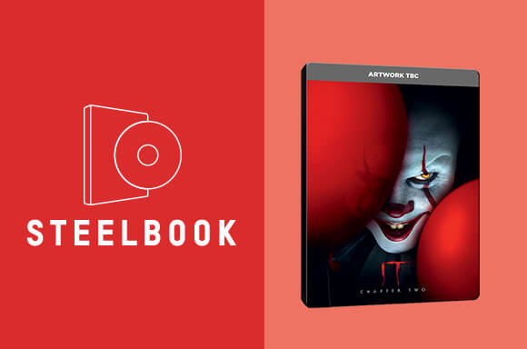 IT CHAPTER 2 STEELBOOK & T-SHIRT