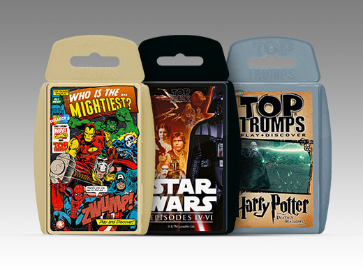 3 FOR £12 TOP TRUMPS