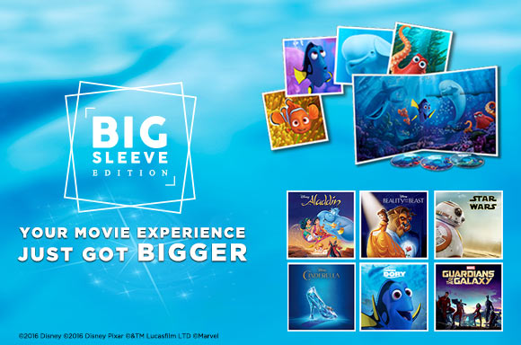 Zavvi Introduces: Big Sleeve Editions