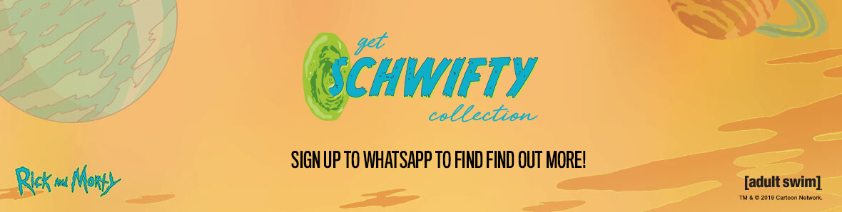Join WhatsApp and be among the first to here about collectable releases & exclusive offers.