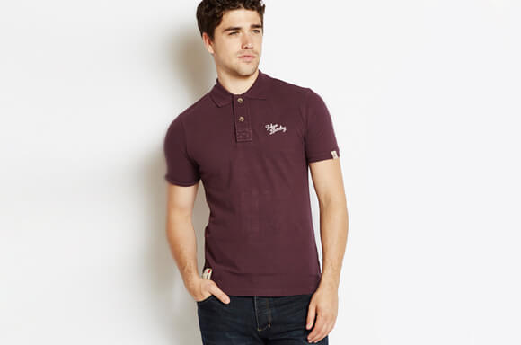 BUY 2 POLO SHIRTS & GET A PAIR OF JEANS FOR ONLY £4!
