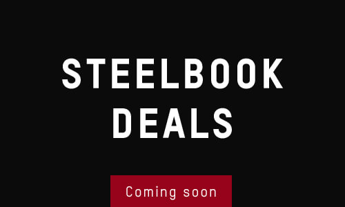 BLACK FRIDAY STEELBOOK DEALS