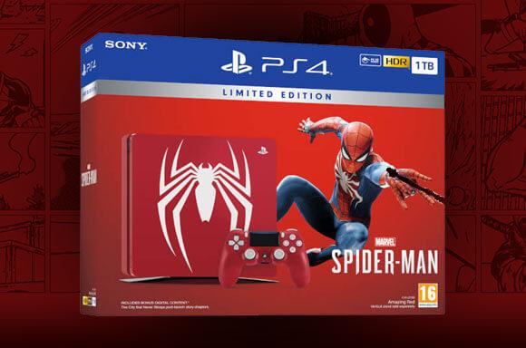 MARVEL'S SPIDER-MAN PS4 1TB